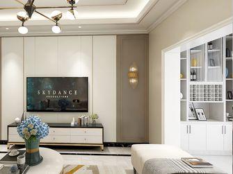 130平米四室两厅英伦风格客厅装修图片大全