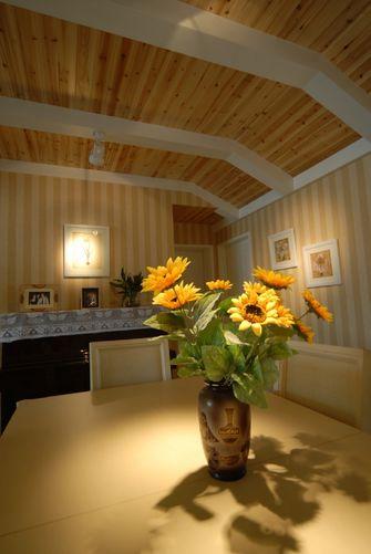 5-10万130平米三室三厅田园风格走廊装修效果图