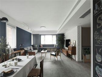 90平米三室两厅英伦风格客厅欣赏图