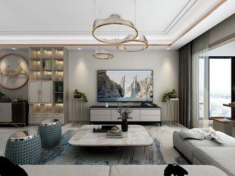 120平米三室三厅中式风格客厅装修案例