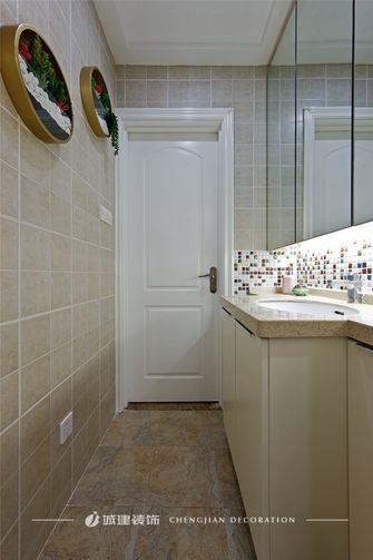 80平米三室一厅北欧风格卫生间装修效果图