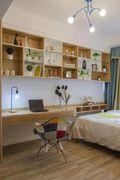 110平米三室两厅宜家风格书房装修效果图