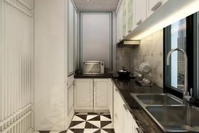 60平米欧式风格厨房装修案例