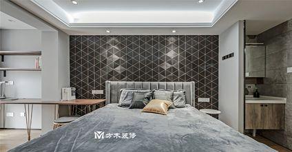 80平米复式混搭风格卧室装修图片大全