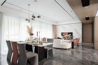 140平米三室两厅现代简约风格客厅欣赏图