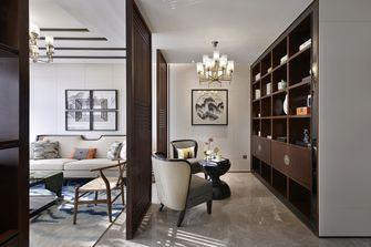 120平米一室一厅中式风格客厅图片