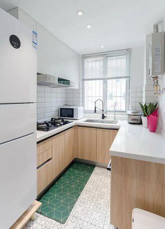 110平米三室两厅宜家风格厨房图片大全