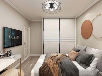 60平米公寓现代简约风格卧室图片