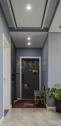 90平米三室两厅其他风格走廊图片