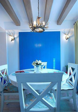 80平米一室一厅地中海风格餐厅装修案例