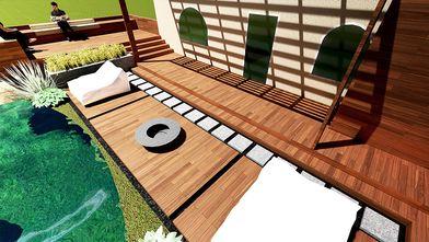 130平米别墅东南亚风格其他区域装修案例