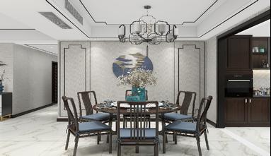 120平米新古典风格餐厅装修图片大全