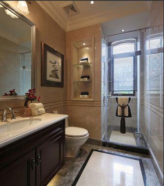 豪华型140平米四室三厅新古典风格卫生间设计图