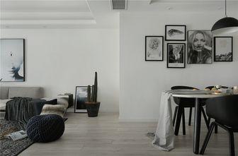 110平米三室两厅北欧风格走廊装修图片大全