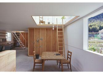 60平米公寓田园风格餐厅欣赏图