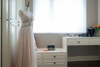 120平米三室两厅美式风格梳妆台效果图