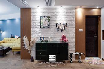 90平米三室两厅现代简约风格玄关装修效果图