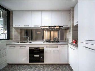 100平米三室两厅田园风格厨房图片大全