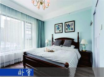 富裕型120平米三室一厅北欧风格卧室装修效果图