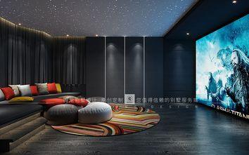 140平米别墅混搭风格影音室效果图