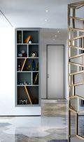 70平米三室两厅混搭风格书房图片