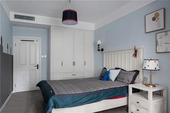 100平米三室两厅美式风格儿童房装修案例