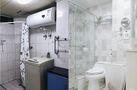 90平米三室一厅宜家风格卫生间图片大全