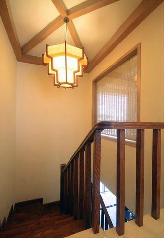 140平米复式东南亚风格楼梯间装修效果图