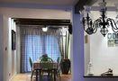 100平米三室一厅田园风格餐厅图片