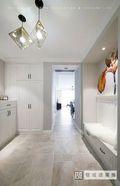 120平米三室两厅美式风格玄关图片