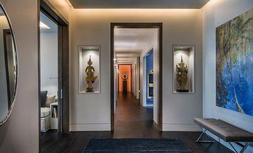 富裕型90平米东南亚风格走廊欣赏图