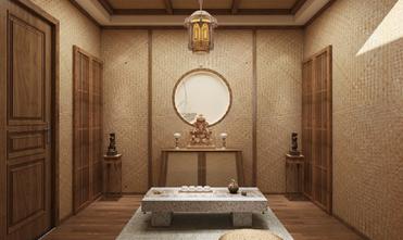 100平米四东南亚风格储藏室装修效果图