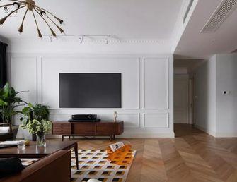 140平米四室两厅混搭风格客厅图