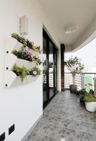 90平米混搭风格阳台设计图