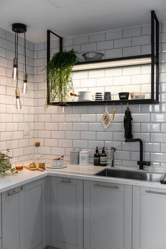 60平米一室两厅现代简约风格厨房欣赏图