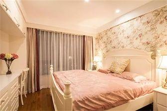 70平米三田园风格卧室装修案例