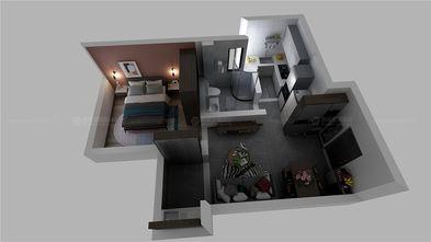 70平米一室一厅宜家风格其他区域装修图片大全