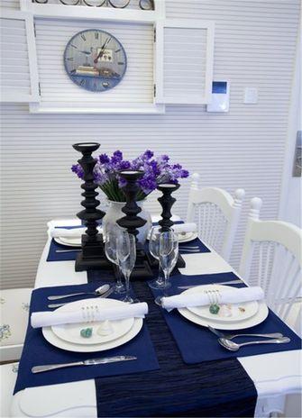 120平米四室一厅地中海风格餐厅设计图