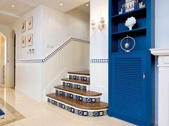 140平米四室一厅地中海风格楼梯间设计图