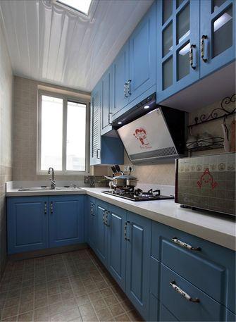 60平米一室一厅地中海风格厨房图