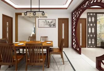 130平米中式风格餐厅图