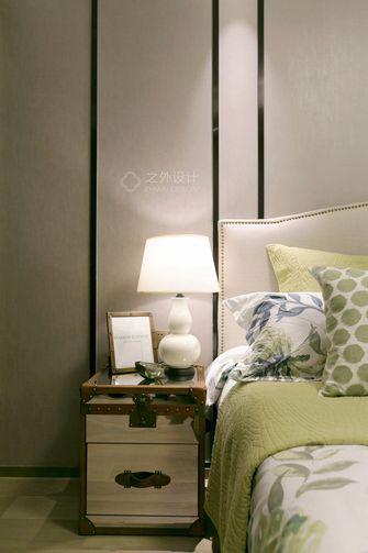 90平米一室两厅美式风格卧室装修图片大全