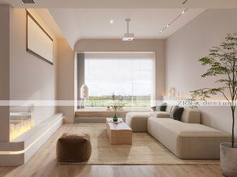 140平米复式英伦风格客厅装修效果图