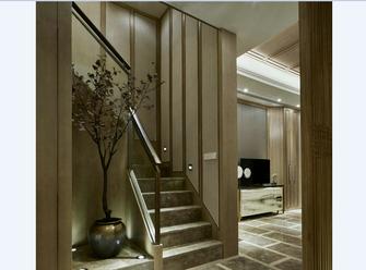 20万以上110平米三室两厅中式风格楼梯装修图片大全