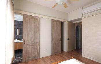110平米四室四厅田园风格卧室欣赏图