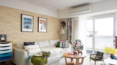 10-15万100平米三室两厅现代简约风格客厅图
