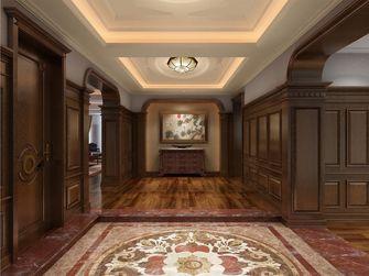 140平米别墅英伦风格玄关欣赏图