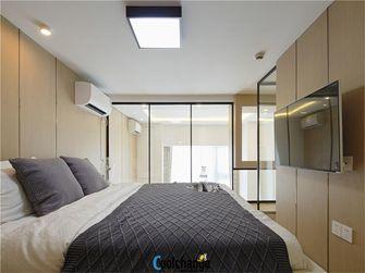 60平米公寓现代简约风格卧室橱柜装修效果图