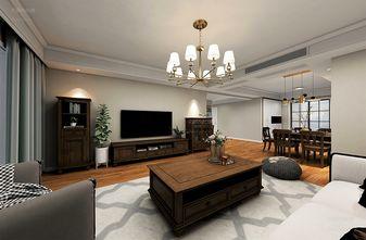 130平米三室两厅宜家风格客厅装修案例