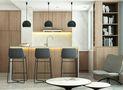 120平米一居室现代简约风格厨房图